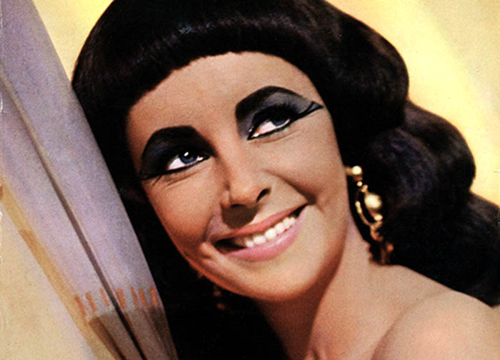 Kleopátra tündöklő mosolya (Elizabeth Taylor 1963)